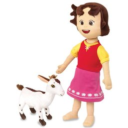 Heidi Peluche - Heidi et sa chèvre 30 cm