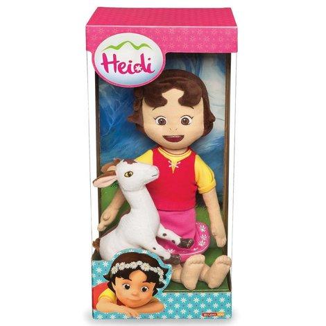 Pluche Heidi: Heidi met geit 30 cm