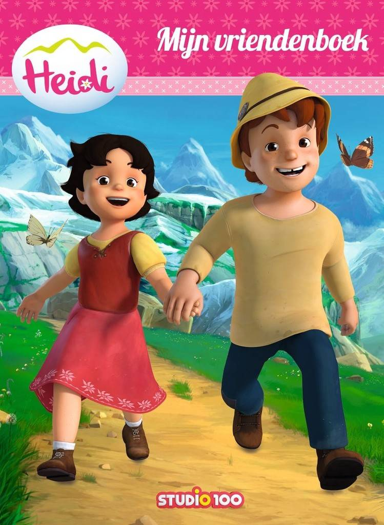 Livre d'amis Heidi