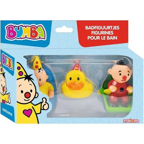 Bumba figurines pour le bain - 3 pièces