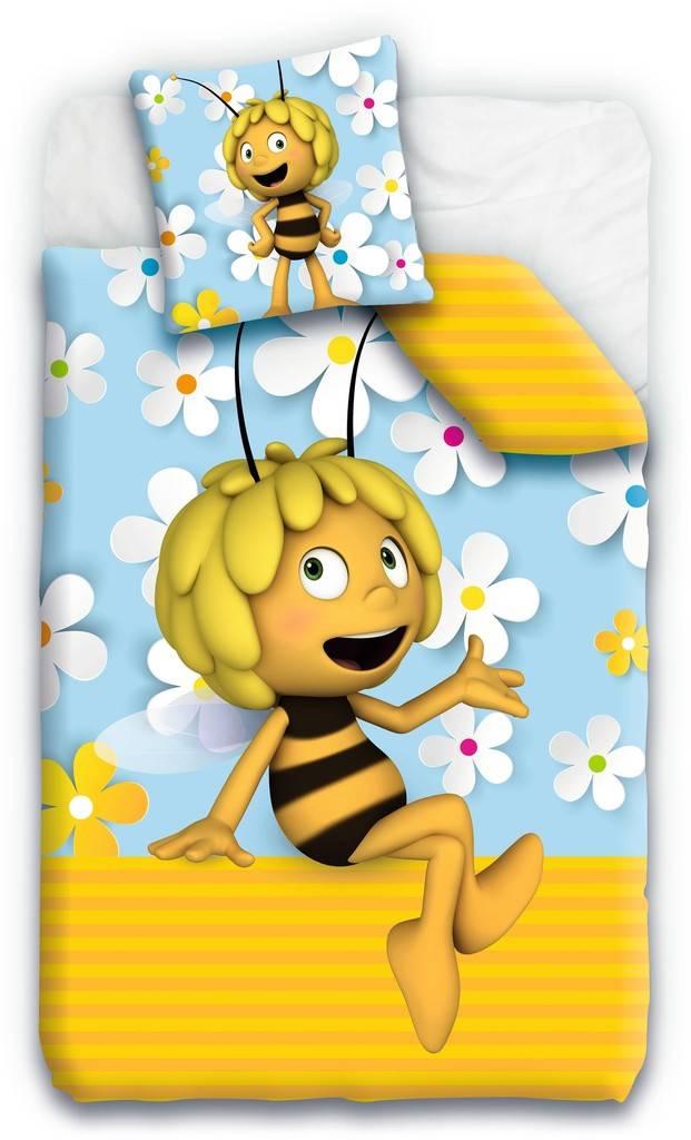 Housse de couette Maya l'abeille - Fleur, 140x200 cm