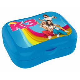Boîte à tartines K3 - bleue