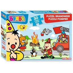 Puzzle Bumba - Pompier, 30 pièces