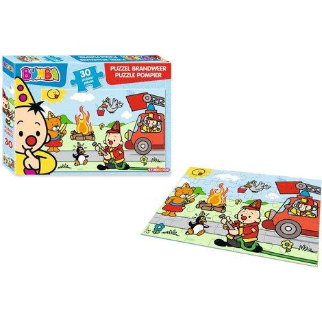 Bumba Puzzle - Pompiers 30 pièces