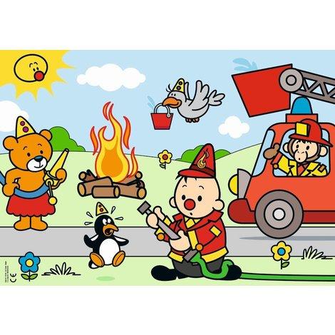 Bumba Puzzle sapeurs-pompiers -30 pièces
