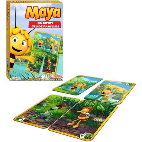 Jeu de cartes familles XL Maya l'Abeille