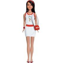 Vêtement pour poupée K3 - robe blanche