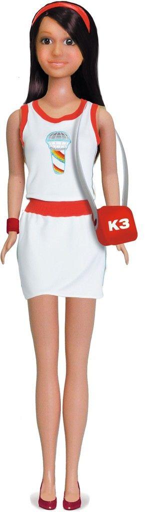 Kleding K3 tienerpop: jurkje wit