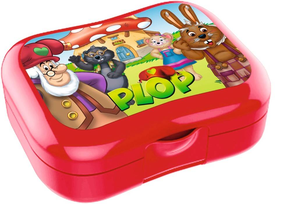 Plop en de Peppers Lunchbox rood