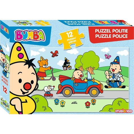 Bumba Puzzle - Police 12 pièces