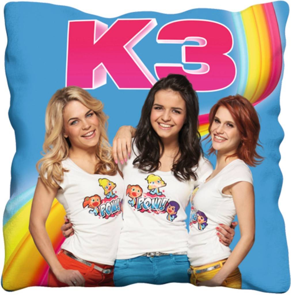 K3 Kussen 40x40 cm