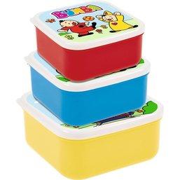 Bumba Lot de 3 boîtes de rangement