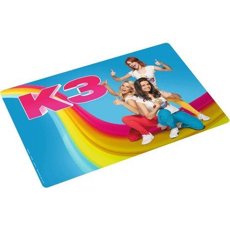 K3 Set de table - bleu