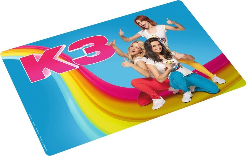 K3 Placemat - Blauw
