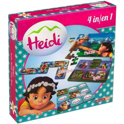 Heidi Spel 4 in 1