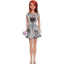 Vêtement pour poupée K3 - robe argentée