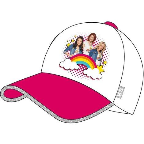 K3 Cap roze regenboog