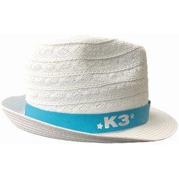 K3 Hoedje wit linnen