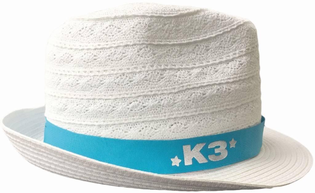 K3 Chapeau en lin - blanc