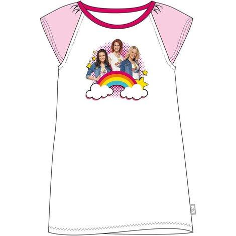 Nachthemd K3 roze regenboog