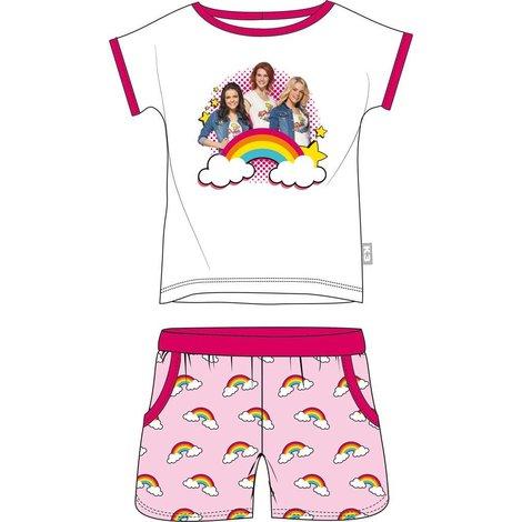 Shortama K3 roze regenboog