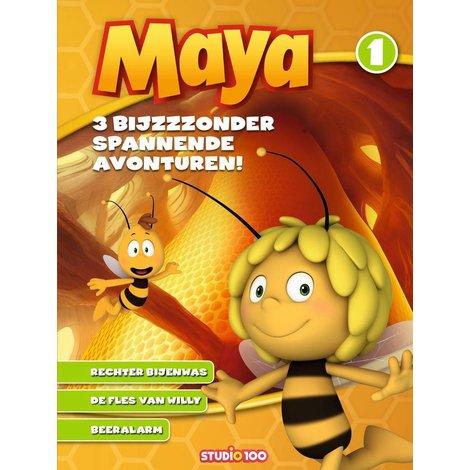 Maya de Bij Boek - 3 Bijzondere avonturen vol. 1