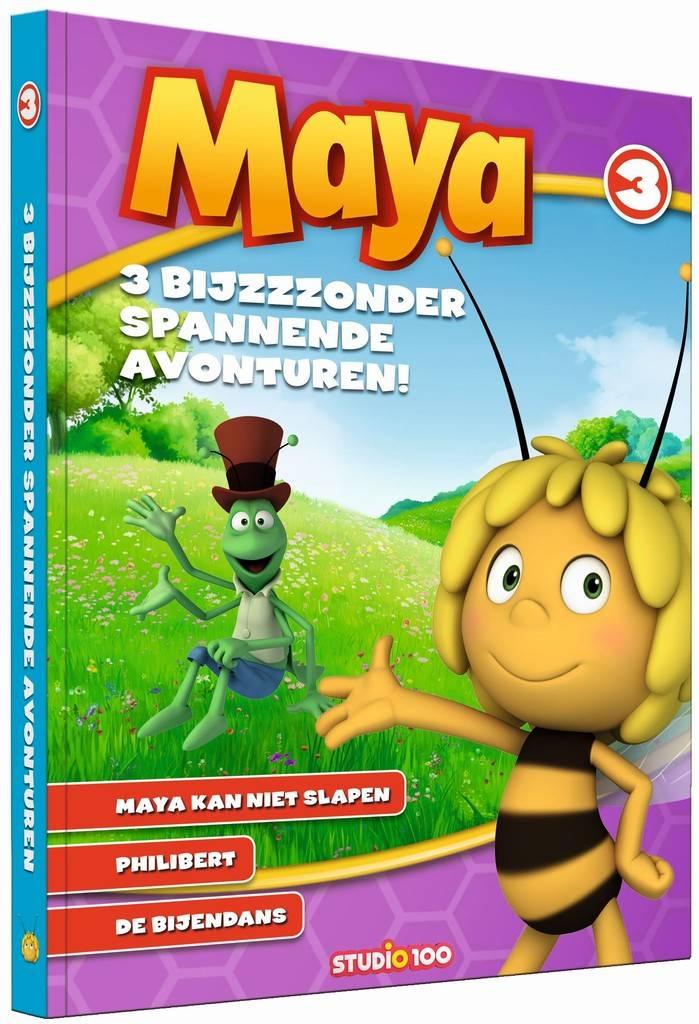 Maya de Bij Boek - 3 Bijzondere spannende avonturen 3