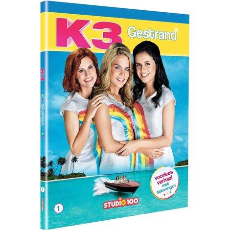 K3 Boek - Gestrand