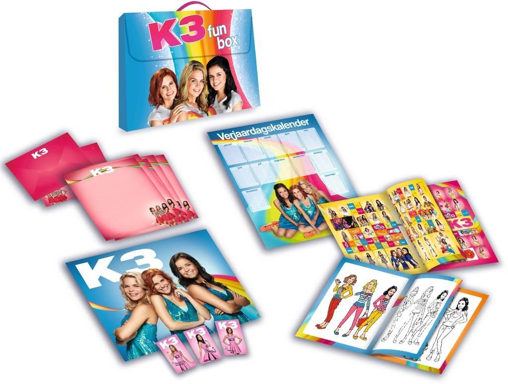 Boek K3: Funbox