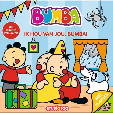 Boek Bumba: kartonboek Ik hou van jou