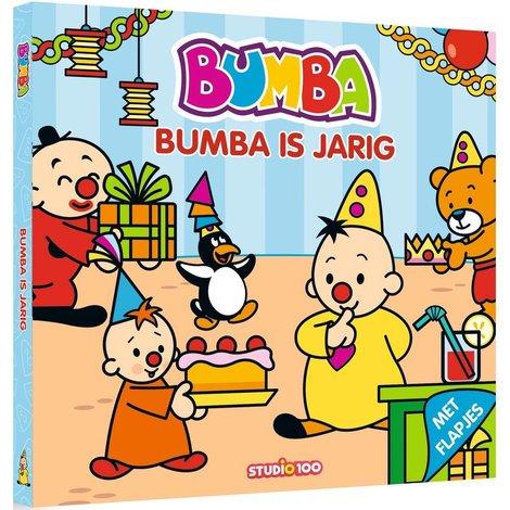 Boek Bumba: kartonboek Bumba is jarig
