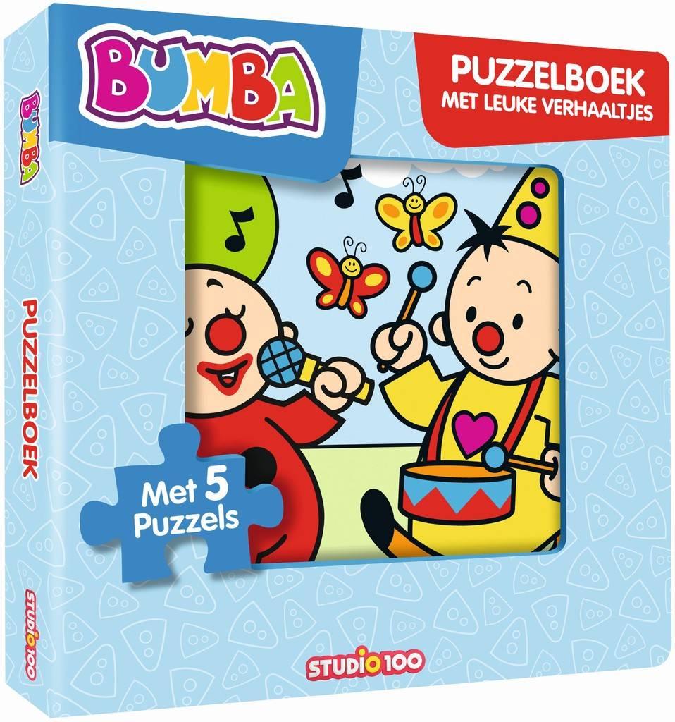 Boek Bumba: Puzzelboek