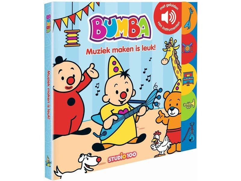 Bumba Boek Bumba: geluidenboek - Studio 100 Webshop