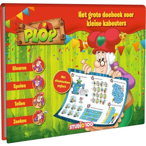 Kabouter Plop Doeboek XL