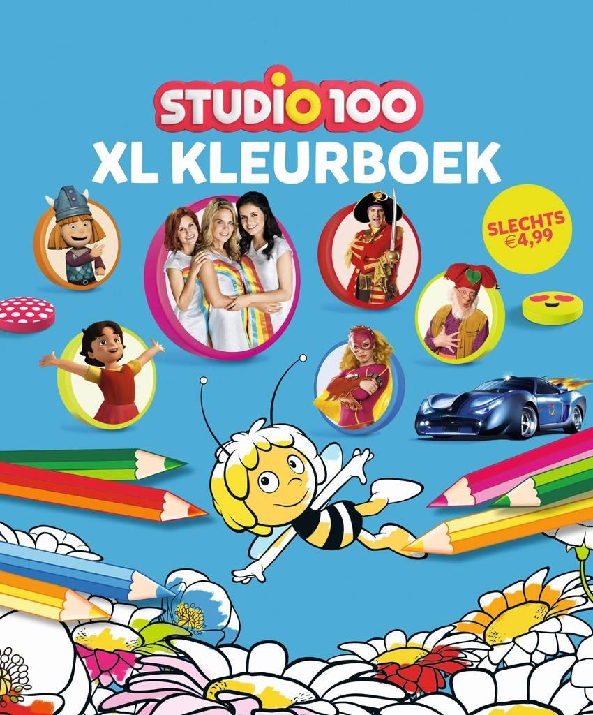 Studio 100 Cahier de coloriage XL