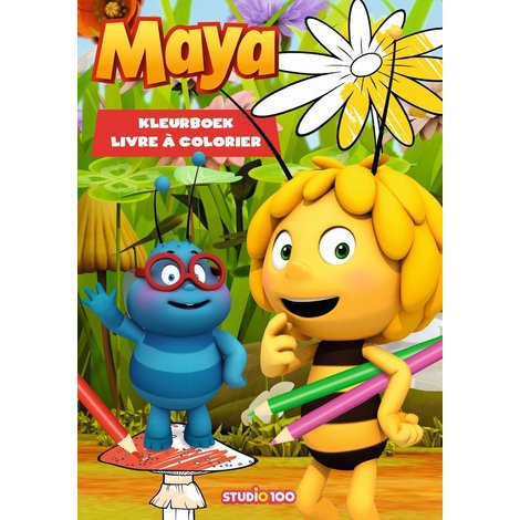 Livre à colorier Maya l'abeille