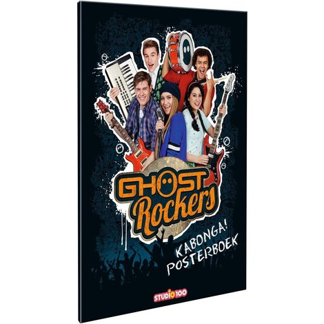 Posterboek Ghost Rockers