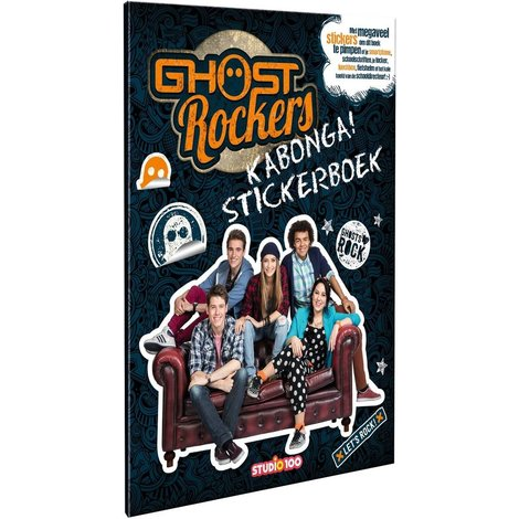 Stickerboek Ghost Rockers