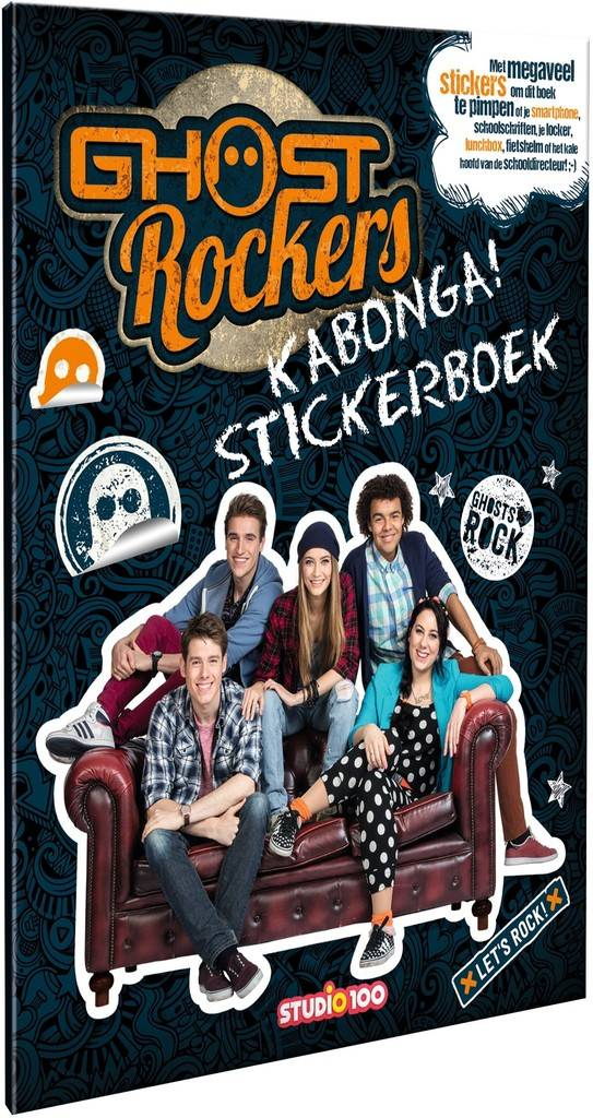 Ghost Rockers Stickerboek