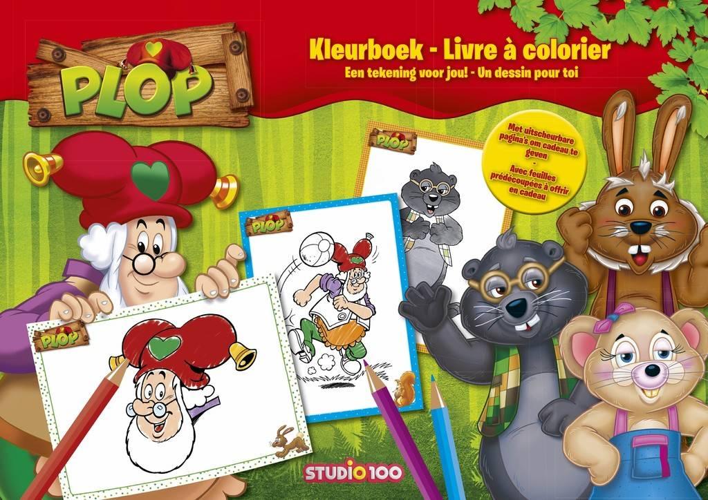 Kabouter Plop Kleurboek - Een tekening voor jou