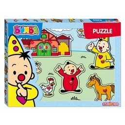 STUDIO 100 Bumba Wooden Tray Puzzle (8-Piece)