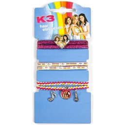 K3 Cheveux Elastique - 6 pièces