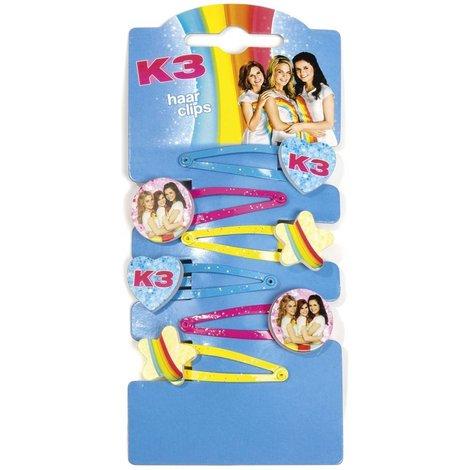 K3 Haarclips ToTum - 6 stuks