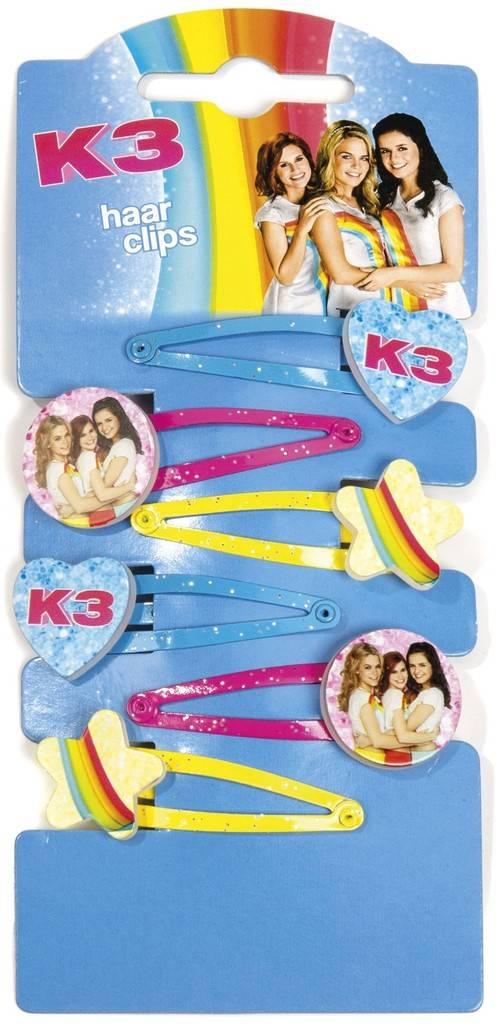 K3 Haarclips - 6 stuks
