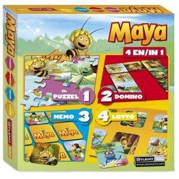 Maya boîte de jeux 4 en 1