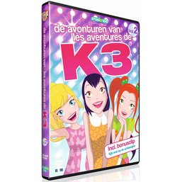 K3 DVD - Avonturen van K3 vol.2