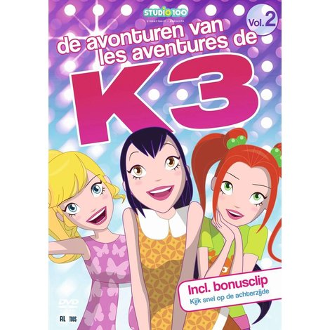 Dvd K3: Avonturen van K3 vol. 2