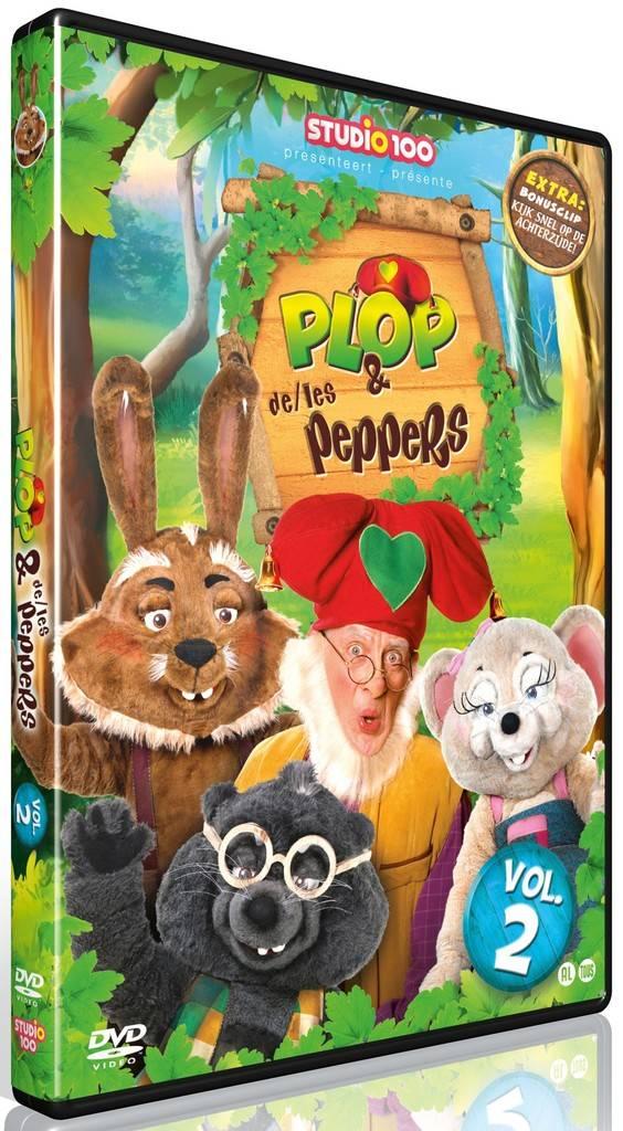 Dvd Plop: Plop en de Peppers vol. 2
