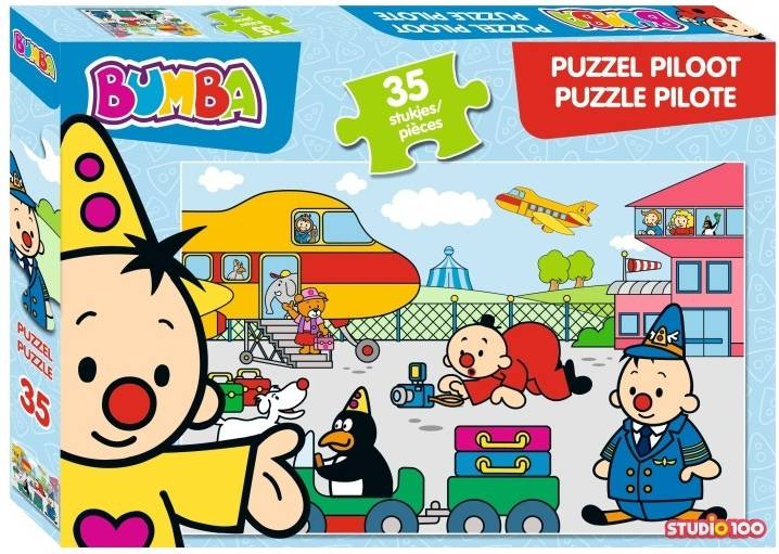 Bumba Puzzle pilote 35 pièces