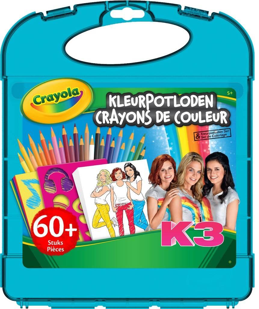 K3 Crayons de couleur